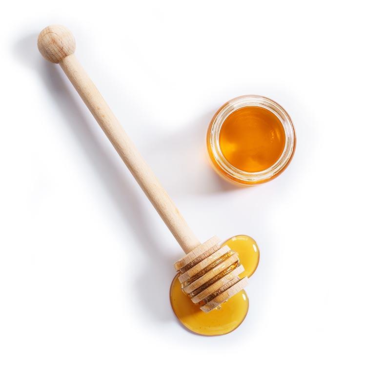 Honey stick and jar