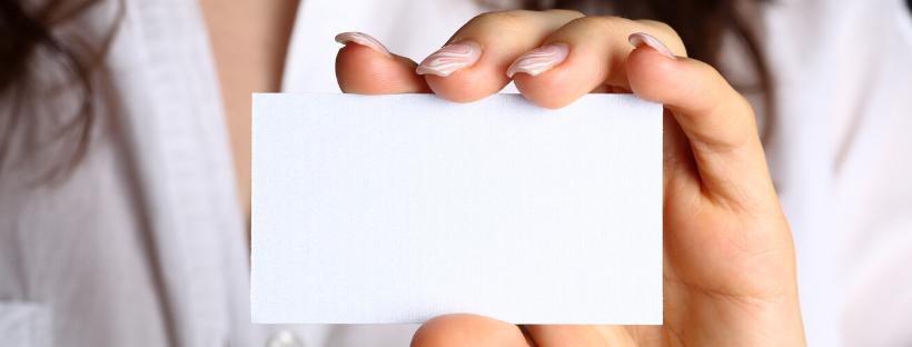 Business Card Distribution